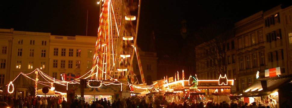 Weihnachtsmarkt in Lübeck