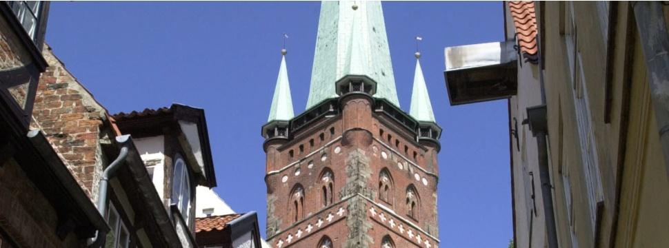 Der Turm der Petrikirche