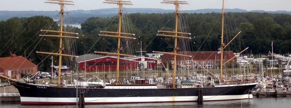 Segelschiff Passat in Travemünde