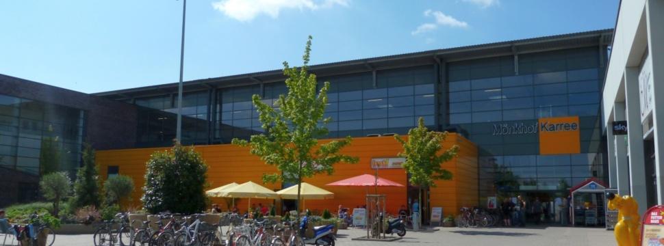 Das Einkaufszentrum im Hochschulstadtteil Lübeck