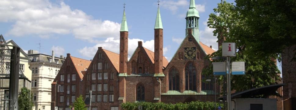 Heiligen-Geist-Hospital am Koberg in Lübeck, nachmittags