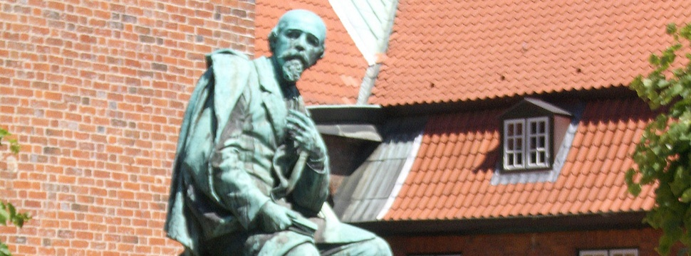 Ehrenbürger Emanuel Geibel, Denkmal Lübeck