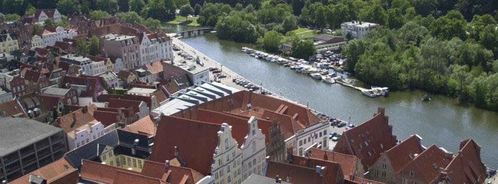 Altstadt Lübecks und ihre Backsteingotik