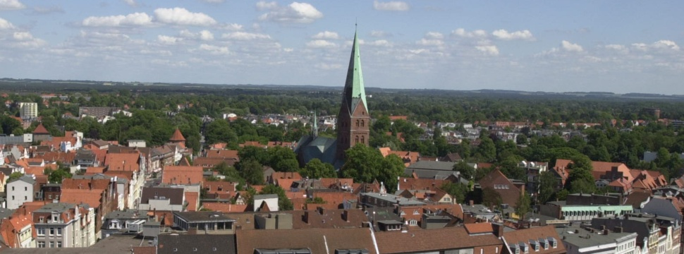 St. Aegidien zu Lübeck vom Petriturm