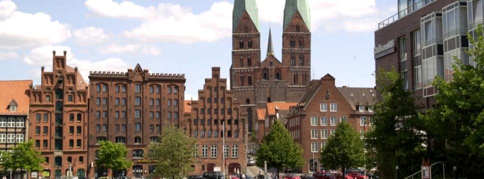 Hansestadt Lübeck vom MuK ausgesehen