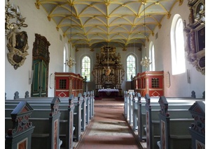 Schlosskirche Ahrensburg Innenansicht