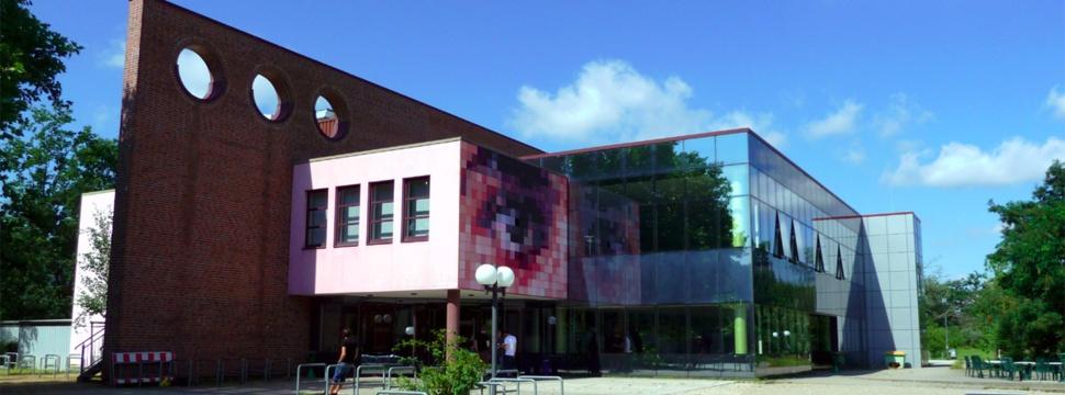 Die Mensa auf dem Campus der Universität zu Lübeck