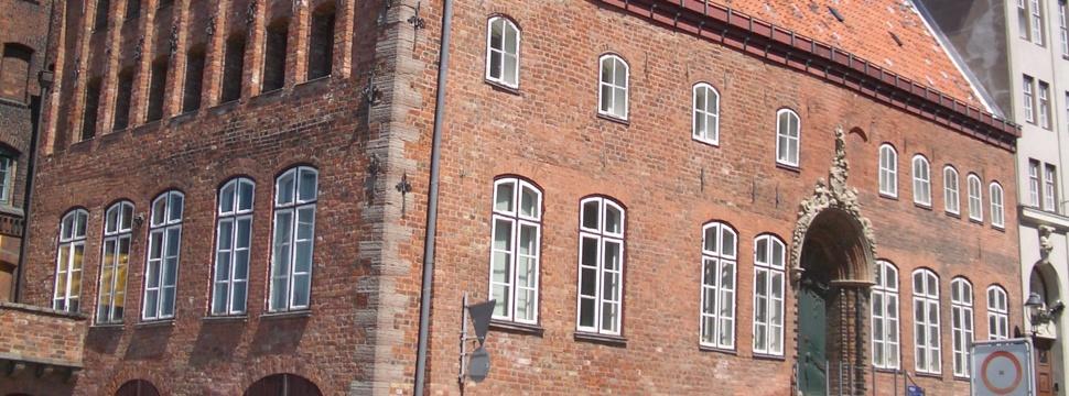 Eines der Backsteingebäude aus Lübeck