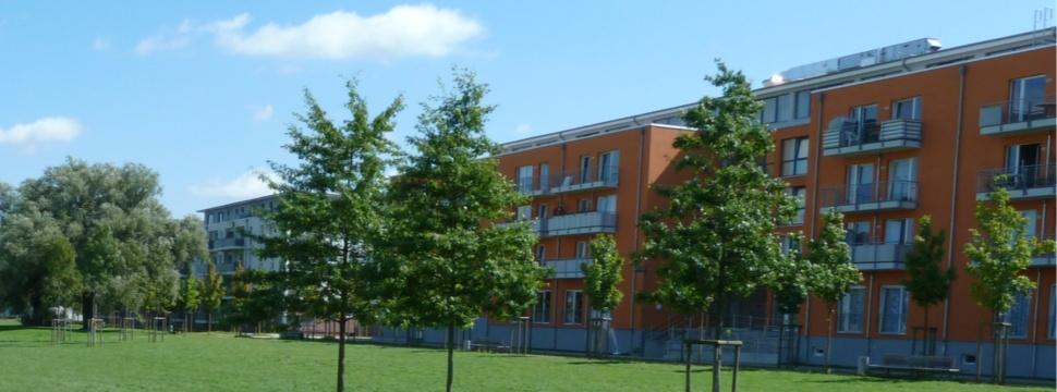 Neue Wohnungen am Carlebach Park